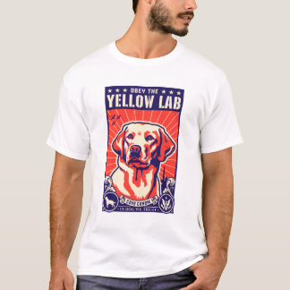 Lyda det gul lab! t-shirts