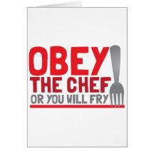 Lyda kocken, eller du ska småfisk hälsnings kort