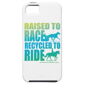 Lyftt till tävlingen som återanvänds för att rida iPhone 5 Case-Mate skydd