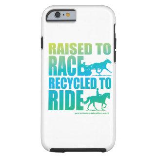 Lyftt till tävlingen som återanvänds för att rida tough iPhone 6 fodral