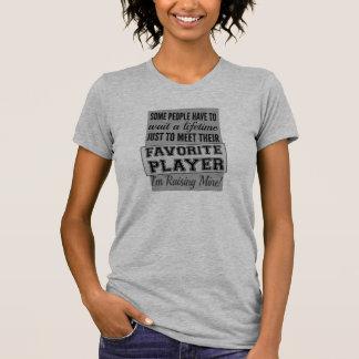 Lyftte min favorit- spelare - beställnings- tee shirts