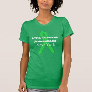 Lyme sjukdommedvetenhet i den New York skjortan T Shirts