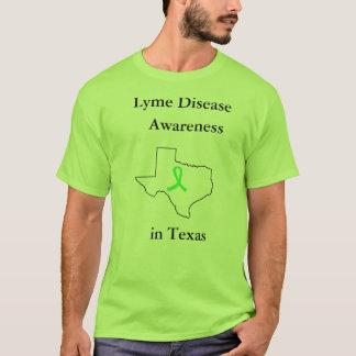 Lyme sjukdommedvetenhet i den Texas skjortan Tröjor