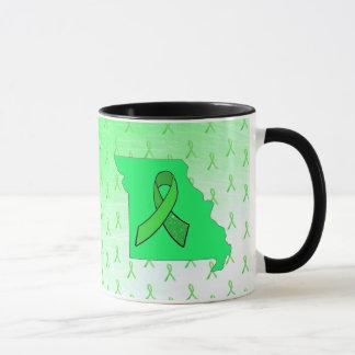 Lyme sjukdommedvetenhet i Missouri kaffekopp