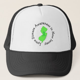 Lyme sjukdommedvetenhet i nytt - jerseybandhatt keps