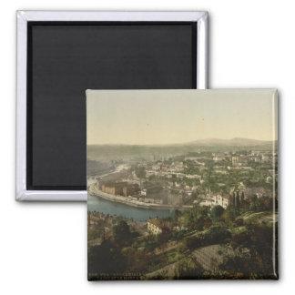 Lyon Cityview, frankrike Magnet