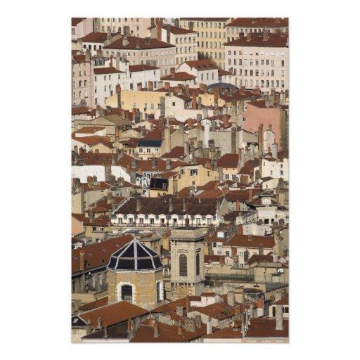 Lyon frankrike fototryck