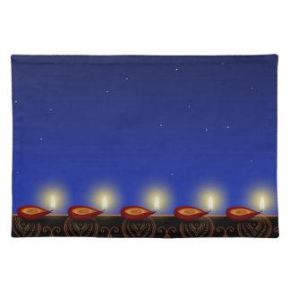 Lysande Diwali Diya - bordstablett