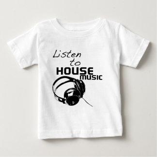 Lyssna till husmusik t shirts