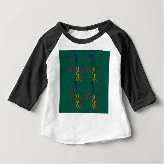 Lyxig guldgrönt för prydnadar t-shirt