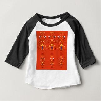 Lyxig mandalasupplagabrunt tee shirt