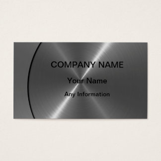 Lyxiga metallvisitkortar för silver visitkort