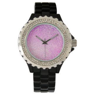 Lyxigt glitter armbandsur