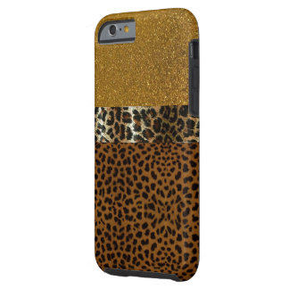 Lyxigt LeopardIPhone 6 fodral Tough iPhone 6 Skal