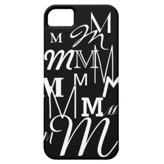 M det initialt iPhone 5 Case-Mate fodral
