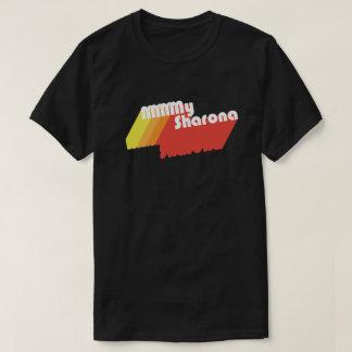 M-M-M-Sharona Retro typografi (mörk) Tee Shirt