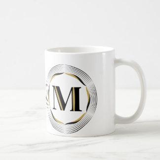 M-Monogram för honom Kaffemugg