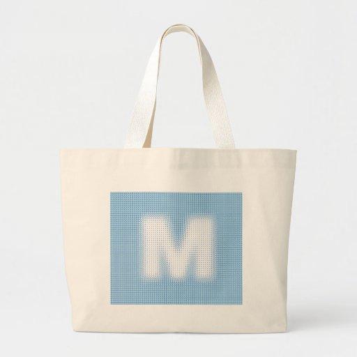M-Monogram Tote Bag