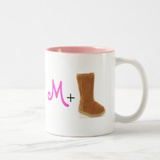M+Ug-mugg Två-Tonad Mugg