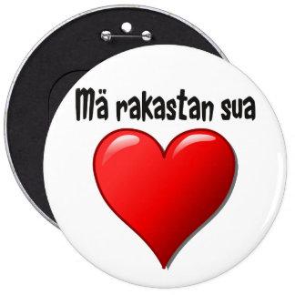 Mä rakastan sua - jag älskar dig i finska