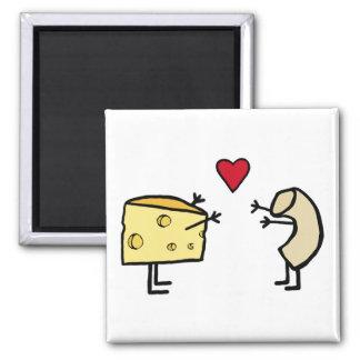 Macaroni- och ostmagnet magnet