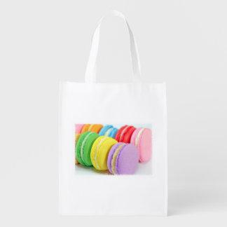 Macarons återvinningsbar matkasse återanvändbar påse