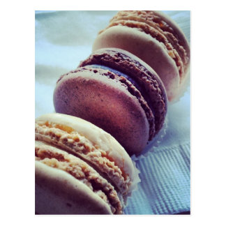 Macarons Vykort