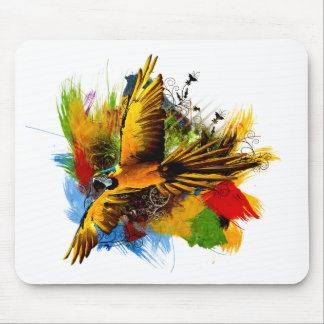Macawfågelmousepad Musmatta