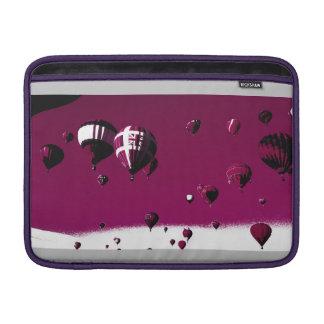 Macbook för purpurfärgade luftballonger Pro sleeve