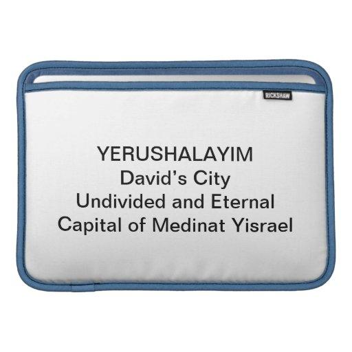 MACBOOK - Yerushalyim MacBook Air Sleeve