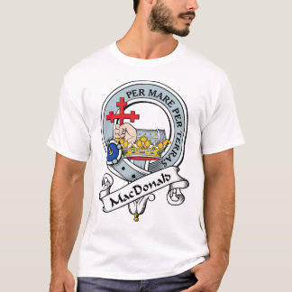 MacDonald av det Donald klanemblem Tshirts