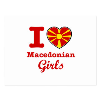 Macedonian design vykort