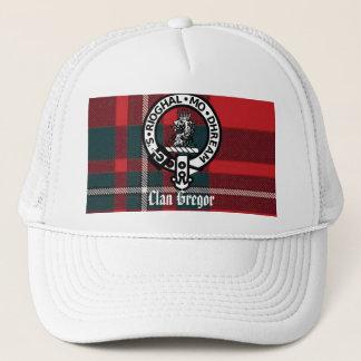 MacGregorPlaid Gregor emblem, klan Gregor Truckerkeps