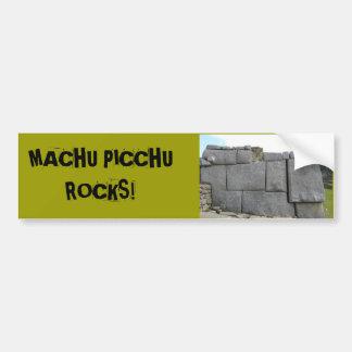 Machu Picchu vaggar bildekal