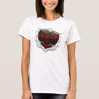 MacLachlan Tartanhjärta T Shirts