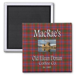 MacRaes gammal magnet för Co. för Eilean Donan