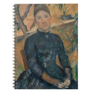 Madam Cézanne (Hortense Fiquet, 1850-1922) Anteckningsböcker