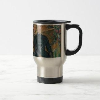 Madam Cézanne (Hortense Fiquet, 1850-1922) Rostfritt Stål Resemugg
