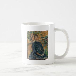 Madam Cézanne (Hortense Fiquet, 1850-1922) Vit Mugg