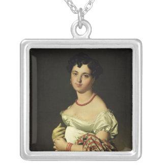 Madam Henri-Philippe-Joseph Panckouke 1811 Silverpläterat Halsband