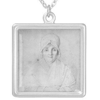 Madam Ingres bara 1814 Silverpläterat Halsband