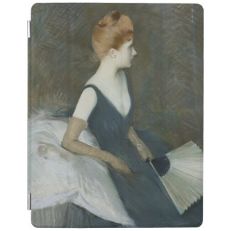 MadamMarthe Le Tellier sitta på en soffa iPad Skydd