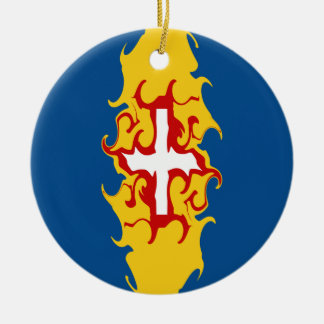 Madeira Gnarly flagga Julgransdekoration