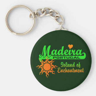 MADEIRA keychain Rund Nyckelring