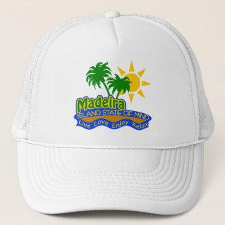 Madeira som är statlig av Mind hatten - välj färg Truckerkeps