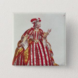 Mademoiselle Dumesnil i rollen av Standard Kanpp Fyrkantig 5.1 Cm