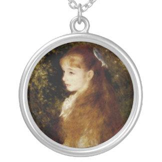 MademoiselleIrene Cahen d'Anvers Silverpläterat Halsband