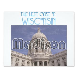 Madison Wisconsin 10,8 X 14 Cm Inbjudningskort