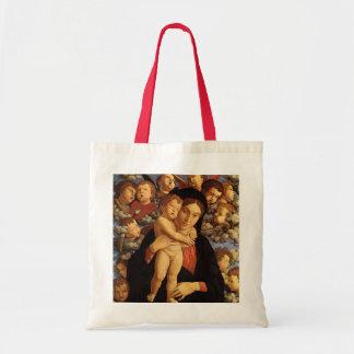 Madonna av Cherubimen av Andrea Mantegna Tygkasse