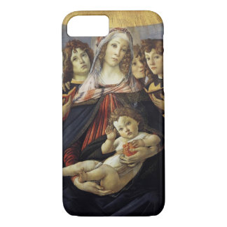 Madonna av den PomegranateBotticelli iphone case